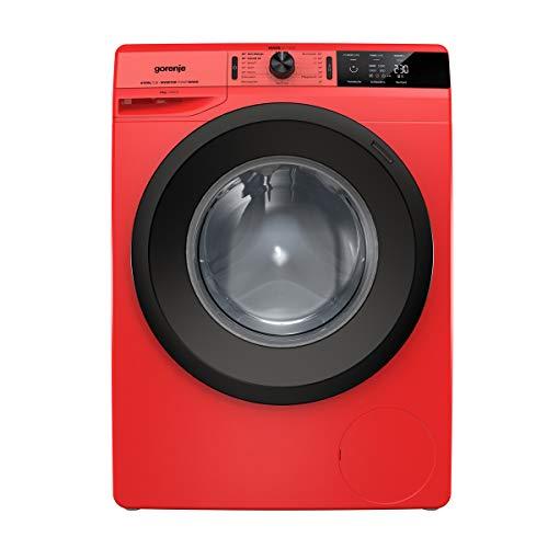 Gorenje WEI 843 PR Waschmaschine/Rot/A+++/8 kg/Automatikprogramm/Schnellwaschprogramm/Energiesparmodus