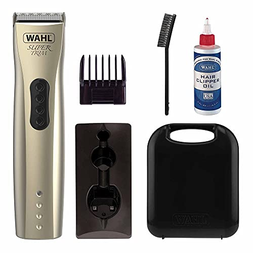 Wahl Dog Clippers, Super Trim Premium Dog Grooming Kit, Trim and Tidy Up...