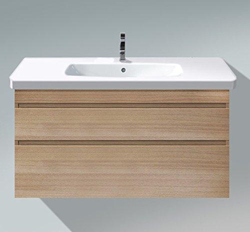 Duravit Waschtischunterschrank wandh. DuraStyle 448x1130x610mm 2 SchKa,f.232012,europ.eiche/europ.ei