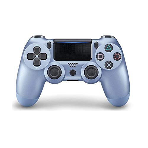 Gamepad Classique Gamepad contrôleur de Jeu sans Fil Bluetooth for Les Ordinateurs Portables et Les téléphones Mobiles joysticks (Couleur : Bleu, Size : 16.2x5.2x9.8cm)