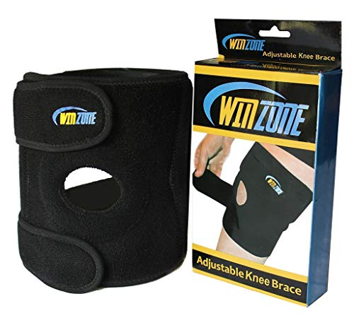 Winzone Knee Brace CM-KB19 Premium Adjustable Compresion Support Sleeve for Sport or Arthritis Pain Relief