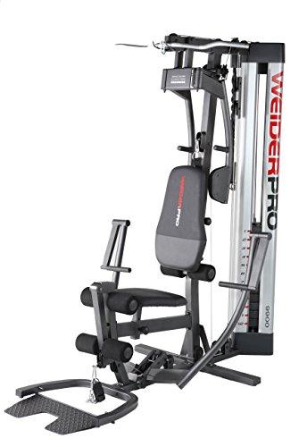 Weider Panca Fitness Multifunzione PRO 9900 I WEEVSY49810 Grigio/Rosso/Nero