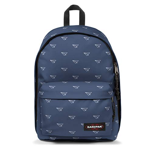 Eastpak out of Office Mochila Tipo Casual, 44 cm, 27 Liters, Azul (Minigami Planes)