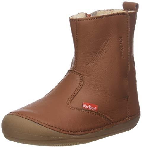 Kickers Baby Jungen SOCOOL Klassische Stiefel, Beige (Camel Cho), 20 EU