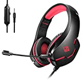 Primary kind of gaming headset, perfect for playing games, listening music, etc. Single 3.5mm Jack for sound and mic Soft cushion head-pad and ear-pad, as well as adjustable length hinges guarantee hours of gaming comfort Delivers clear sound and dee...