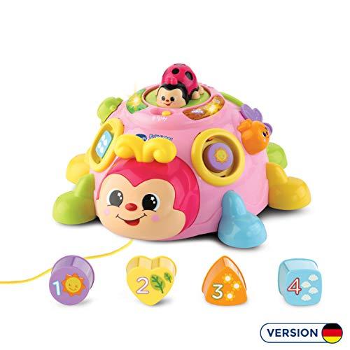 Vtech 80-522354 Fröhlicher Lernkäfer Babyspielzeug, pink