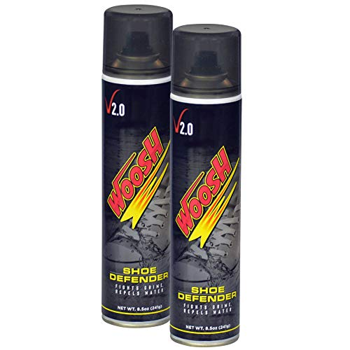 Woosh Shoe Defender 8.5 oz - Water & Stain Repellent. Sneaker and Shoe Protector