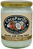 CocoPacific - Aceite de coco virgen extra bio y crudo, 500 ml