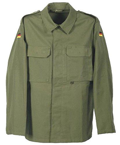 Desconocido Auténtico Ejército alemán Ejército Tema OD molesquín Campo Chaqueta Grade 1 Verde Gris Medium