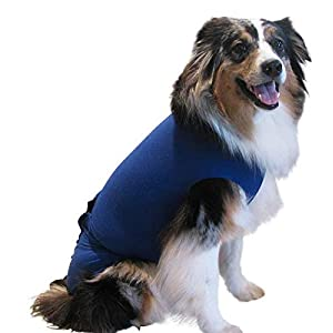 Surgi~Snuggly Washable Disposable Dog Diapers Keeper is Made with American Textile – for Male and Female Dogs – Fits Puppies to Adult Dogs – A Simple Solution to an Everyday Problem