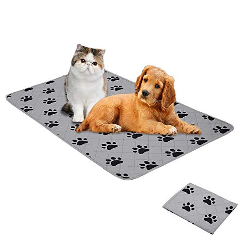 SPXTEX Dog Crate Pads Dog Pee Pads Rugs Washable Dog Pads, Non Slip Puppy Pee Pads for Small Dogs, Waterproof Pet Pad Rug, Dog Whelping Training Pads for Dogs, 1 Piece, 18