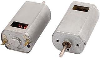 DealMux 2 st DC 1,5–12 V 22 400 RPM stort vridmoment stark magnet mikro likströmsmotor för elektrisk leksak