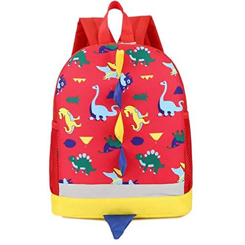 Mochilas Infantiles 3-6 Años, Mochila para Niña Niño Mochila Escolar Toddler Kids Bolsas Escolares Mochila Escolar Pequeños (Rojo)