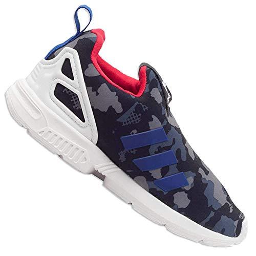 adidas Originals ZX Flux 360 Kinder Turnschuhe Kleinkinder Sneaker Camouflage, Schuhgröße:EUR 23, Farbe:Camouflage