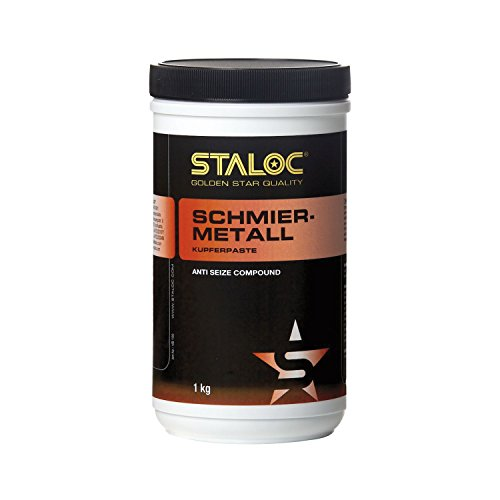 STALOC koperpasta | smeermetaal | speciaal smeermiddel op koperbasis | anti-zijdecompound | 1 kg