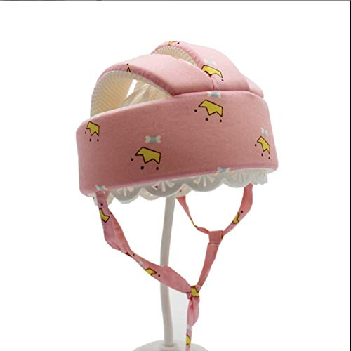 Babyhelm Kinder Schutzhelm Säugling Anti Kollision Schutzhut Verstellbar Stoßfest Kopfschutzmütze Baumwolle Kopfschutz Lauflernen Helmmütze Spielen Gehen Kopfpolster Kleinkind Sicherheit Hut