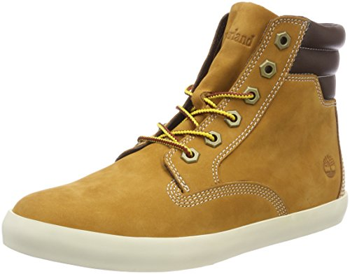 Timberland Damen Dausette Sneaker Stiefel, Gelb (Wheat Nubuck), 39 EU
