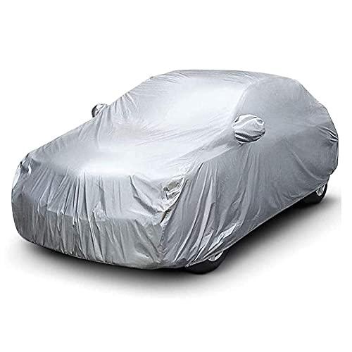 GAOQ-Car Cover Cubierta de Coches/Compatible con Smart/FORTWO FORFOUR FORJEREMY All Tiempo Protección Universal Ajuste Cubiertas a Prueba de Lluvias a Prueba de Viento a Prueba de Viento