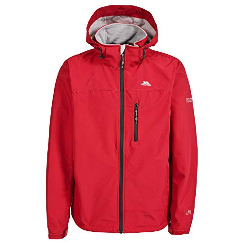 Trespass Stanford Veste Homme, Rouge, FR : 2XL (Taille Fabricant : XXL)
