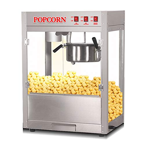 Review Popcorn Machine-Fully automatic/commercial/electric/spherical popcorn machine, 220-240V, 1300...