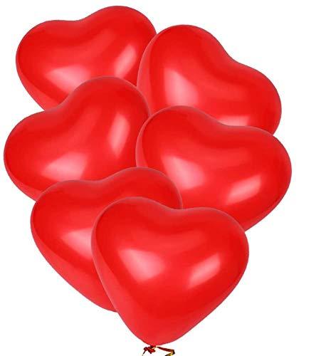 40 palloncini in lattice, 30 cm, a forma di cuore rosso, per feste di compleanno, matrimonio, baby shower