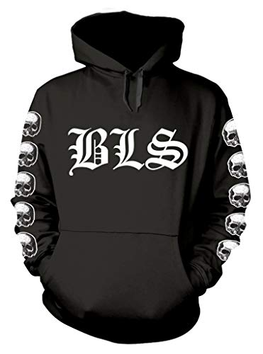 Black Label Society 'Logo' (Black) Pull Over Hoodie (Small)