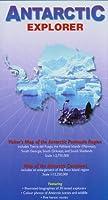 Antarctic Explorer: Visitor's Map of the Antarctic Peninsula Region and map of the Antarctic Continent (Ocean Explorer Maps)