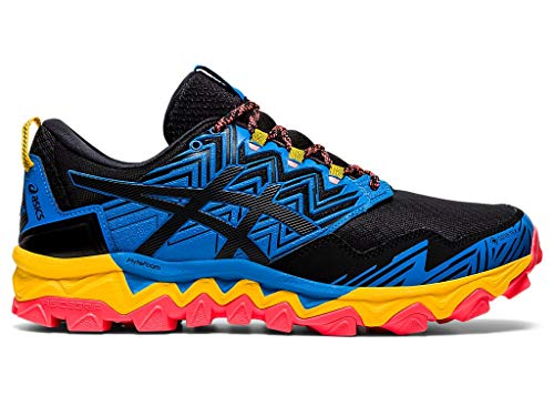 ASICS Men's Gel-Fujitrabuco 8 G-TX Running Shoes, 10.5M, Directoire Blue/Black