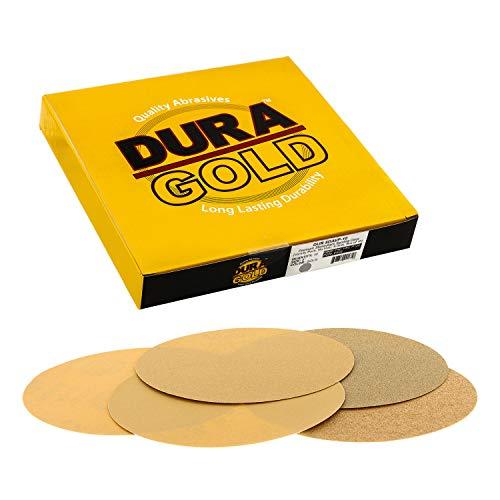 POWERTEC 110550 8 PSA 80 grit Aluminum Oxide Adhesive Sanding Disc Pack of 10