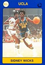 Autograph Warehouse 102515 Sidney Wicks Basketball Card Ucla 1991 Collegiate Collection No. 52