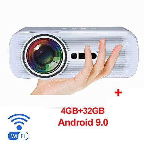 Power Banks HD-videoprojector voor buiten, 40 inch (40 inch), thuisbioscoop, compatibel met 1080P, compatibel met Fire TV Stick, PS4, HDMI, VGA, AV en USB