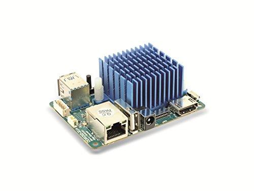 ODROID-XU4Q Einplatinen-Computer, SAMSUNG Exynos 5422, 2 GB, 2x USB 3.0, Einplatinencomputer,Hardkernel, Mini Server, Mini PC, Server, Einplatinen Board, Selbstbau PC