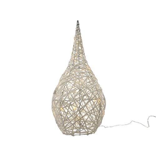 Kaemingk Goutte en Corde avec LED Blanc Chaud