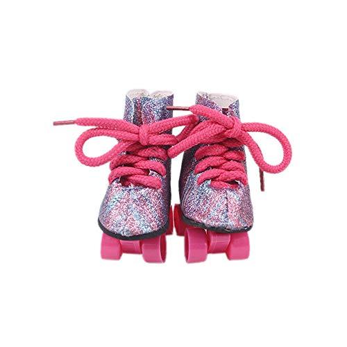 Aeromdale Puppenzubehör für Puppen, geeignet für 45,7 cm große amerikanische Puppen, 43 cm, Geschenk für Mädchen, Mix, 1 Paar