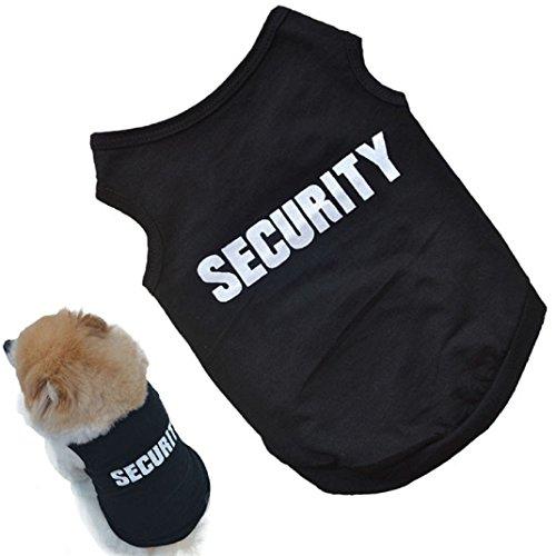 Amison Nuovo Cucciolo di Maglia dell'animale Domestico Cane Carina Moda Stampato t-Shirt Cotone (L)