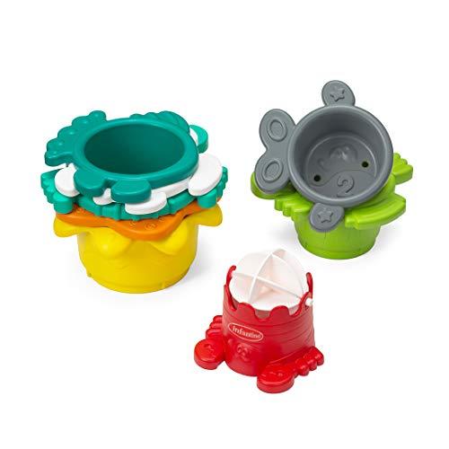 Brinquedo de Banho de Empilhar Infantino Interativo