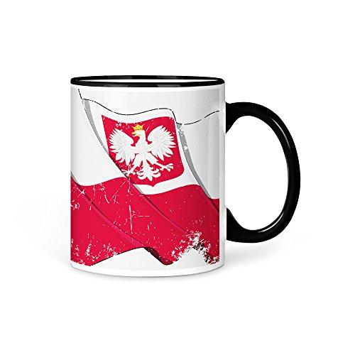 Tasse Kaffeetasse Polen Fahne 1