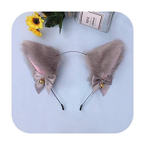 Katzenohren Haarreif mit Katzenohren, 15 Stile, Größe L