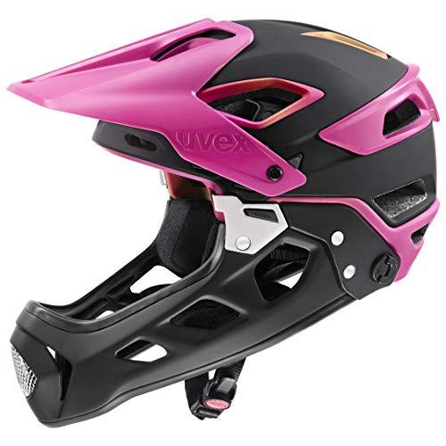 Uvex jakkyl HDE 2.0 Casco de Bicicleta, Unisex Adulto, Future Black Mat,...
