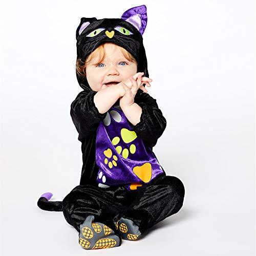 amscan PDBCAT06 - Disfraz de gatito de 6 a 12 meses, 1 unidad