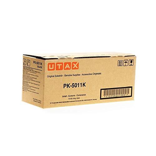 Original Utax 1T02NR0UT0 / PK-5011K, Premium Drucker-Kartusche, Schwarz, 7000 Seiten