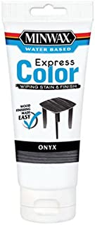 Minwax 308084444 Express Color Wiping Stain and Finish, Onyx