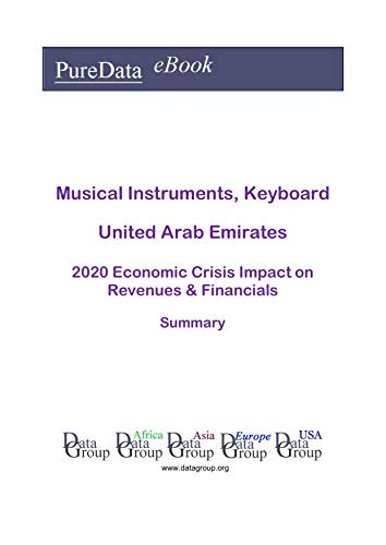 Musical Instruments, Keyboard United Arab Emirates Summary: 2020 Economic Crisis Impact on Revenues & Financials (English Edition)
