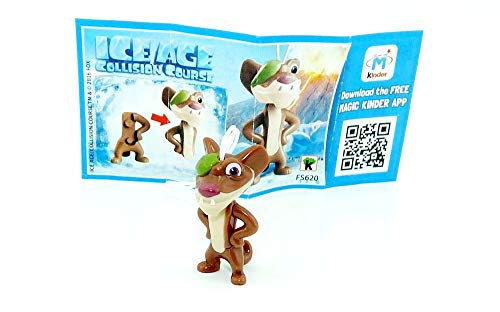 Kinder Überraschung, Buck by Ice Age 5 - Collision Ahead with Package Guide
