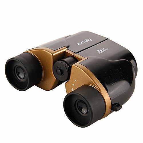 Verrekijker 8 x 21 HD Low Light Level Nachtzicht Draagbare compacte telescoop Professionele vogelkijker, waterdichte fog proof-telescoop voor sightseeing-concert in de vrije natuur naar de voetbal Guc