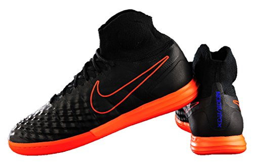 Nike Nike Herren 843957-084 Fußballschuhe, Schwarz (Black/Hyper Orange-Paramount Blue), 44.5 EU
