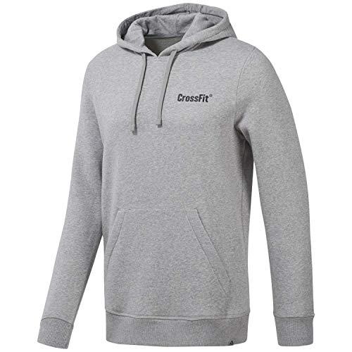 Reebok Herren Rc Mor Logo Hoodie Sweatshirt, BRGRIN, S