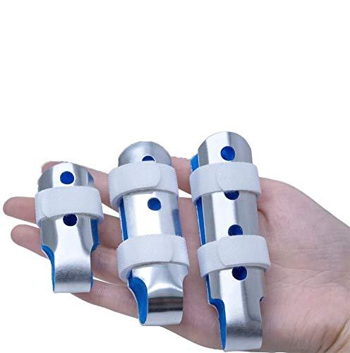 Sumifun Splint Finger, Mallet DIP Finger Splints, Finger Extension Splint para Trigger Finger, Mallet Finger, Finger Knuckle Immobilization, Finger Fractures,