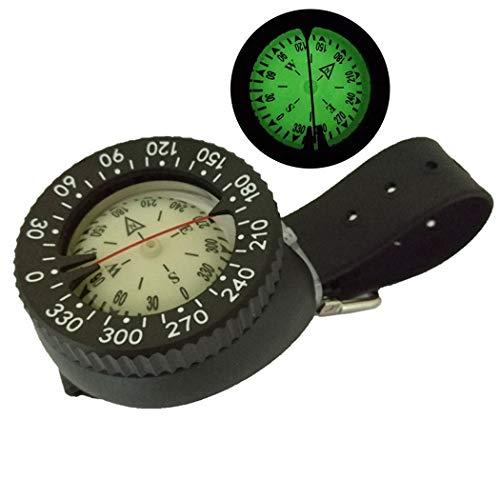 Fansport Wrist Compass Einstellbarer Tauchkompass Campingkompass FüR Den AußEnbereich