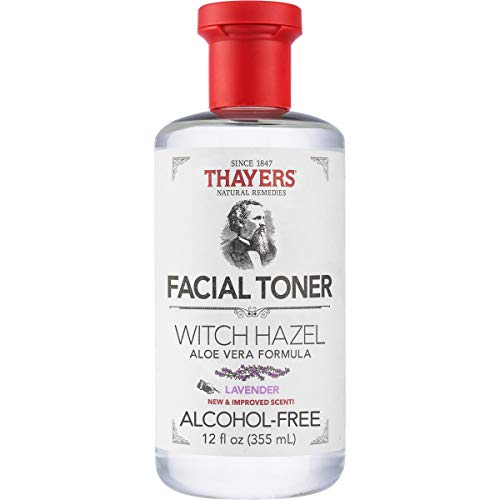 THAYERS Alcohol-Free Lavender Witch Hazel Facial Toner with Aloe Vera Formula - 12 oz, Clear (TA0035)